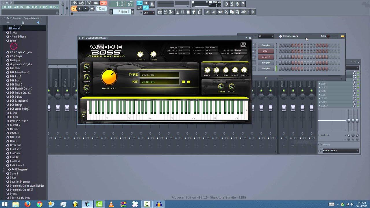 FL Studio 12 2: Fixing VSTs not loading in Channel Rack (using Browser  method)