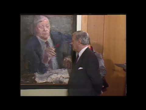 Helmut Schmidt: Objekt der Woche - Das Kanzlerporträt