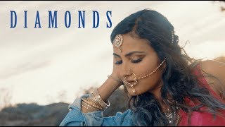 "Official video for the original single ""diamonds"" by vidya vox ft. arjun, from kuthu fire ep: http://apple.co/2w2bc6l get it on itunes: http://bit.ly/itunesd..."