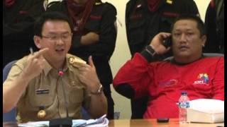 24 Okt 2012 Bpk Wagub Basuki T. Purnama menerima Demo Buruh DKI