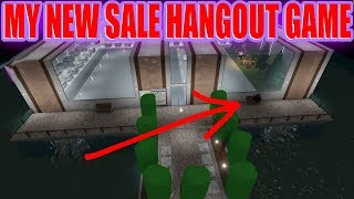 MY NEW MIDNIGHT SALE HANGOUT GAME [Roblox]