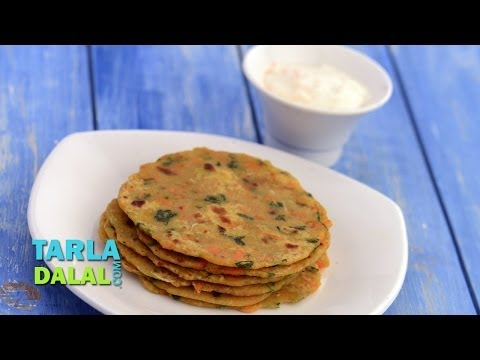 Vegetable Parathas (Healthy kids Recipe) by Tarla Dalal
