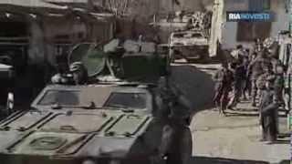 Rüstungsmesse im Ural: Ferngesteuerte Roboter -Schützen