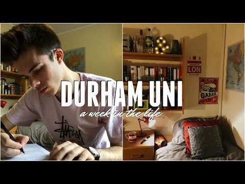 A WEEK IN MY LIFE AT DURHAM UNIVERSITY (Study With Me And Honest Uni Review!)   Jack Edwards   AD