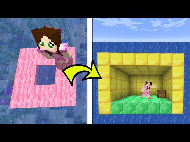 Minecraft: I FOUND A SECRET UNDERWATER ROOM!!! - Custom Map