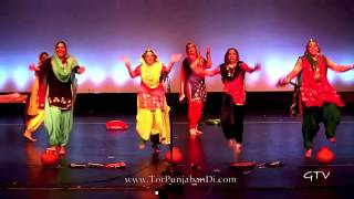 www.TorPunjabanDi.com - Highlights from Tor Punjaban Di: North America's Premier Giddha Competition