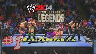 wWE 2K14: Wrestling Legends Mod Matches #1