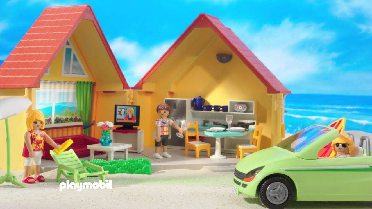 playmobil la maison de vacances fran ais youtube. Black Bedroom Furniture Sets. Home Design Ideas
