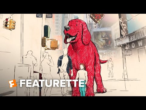 Clifford the Big Red Dog Featurette - Book to Screen (2021) | Movieclips Trailers
