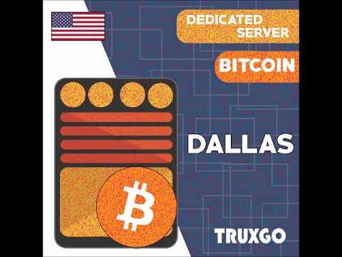 ~Bitcoin~ Dedicated Server Dallas
