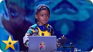 DJ Arch Jnr gets the party started! | BGT: The Champions