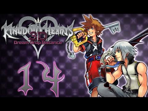 Kingdom Hearts Dream Drop Distance HD #14 Retour dans la Ville de Traverse
