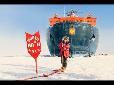 Voyage to North Pole on Nuclear Icebreaker Journey to the Top of the World/Travel Diaries
