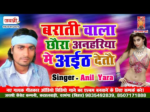 Dj Wala Chaura Anhariya Main Tip Detau || डीजे वाला छौरा अनहरिया मे टिप देतौ || Anil Yara