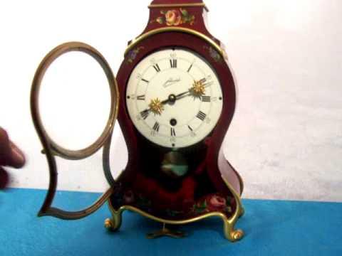 Vecchio orologio da tavolo luigi filippo in bachelite - Orologio da tavolo antico ...