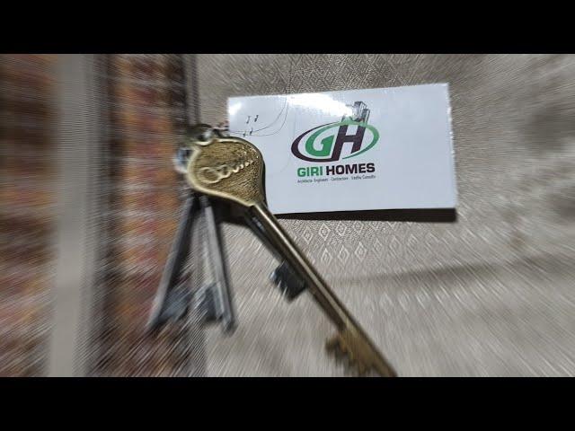 Handovering Key To Clients & Door Frame Installation @GIRI HOMES
