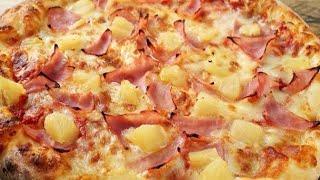 Hoy les grabé pizzas hawaianas desde cero receta el sábado