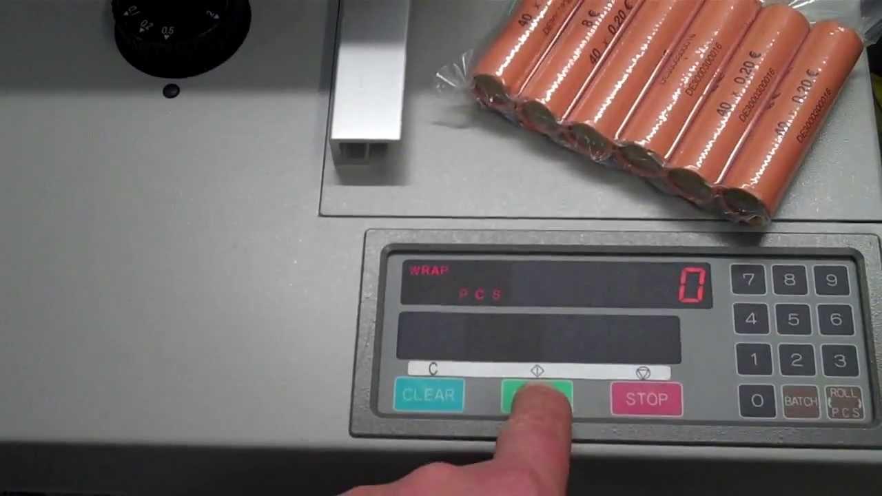 Münzrollierer Geldverpacker Münzverpacker Wechselgeld Ngz
