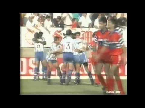 C.D. MALAGA - RCD ESPANYOL PROMOCIÓN 1989/90