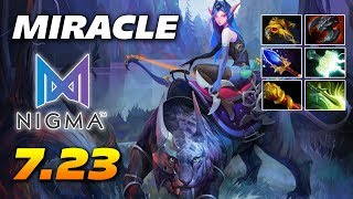 Miracle Mirana Hard Carry - Dota 2 Pro Gameplay 7.23 Patch