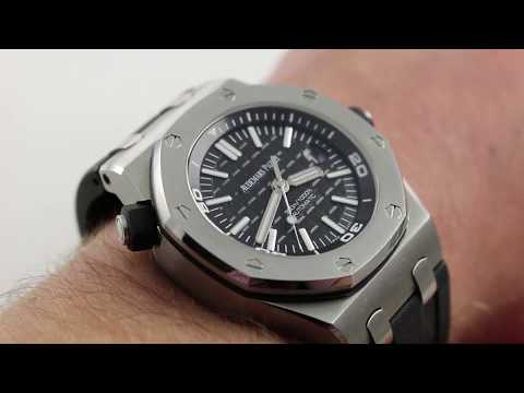 Pre-Owned Audemars Piguet Diver Royal Oak Offshore 15710ST.OO.A002CA.01 Luxury Watch Review