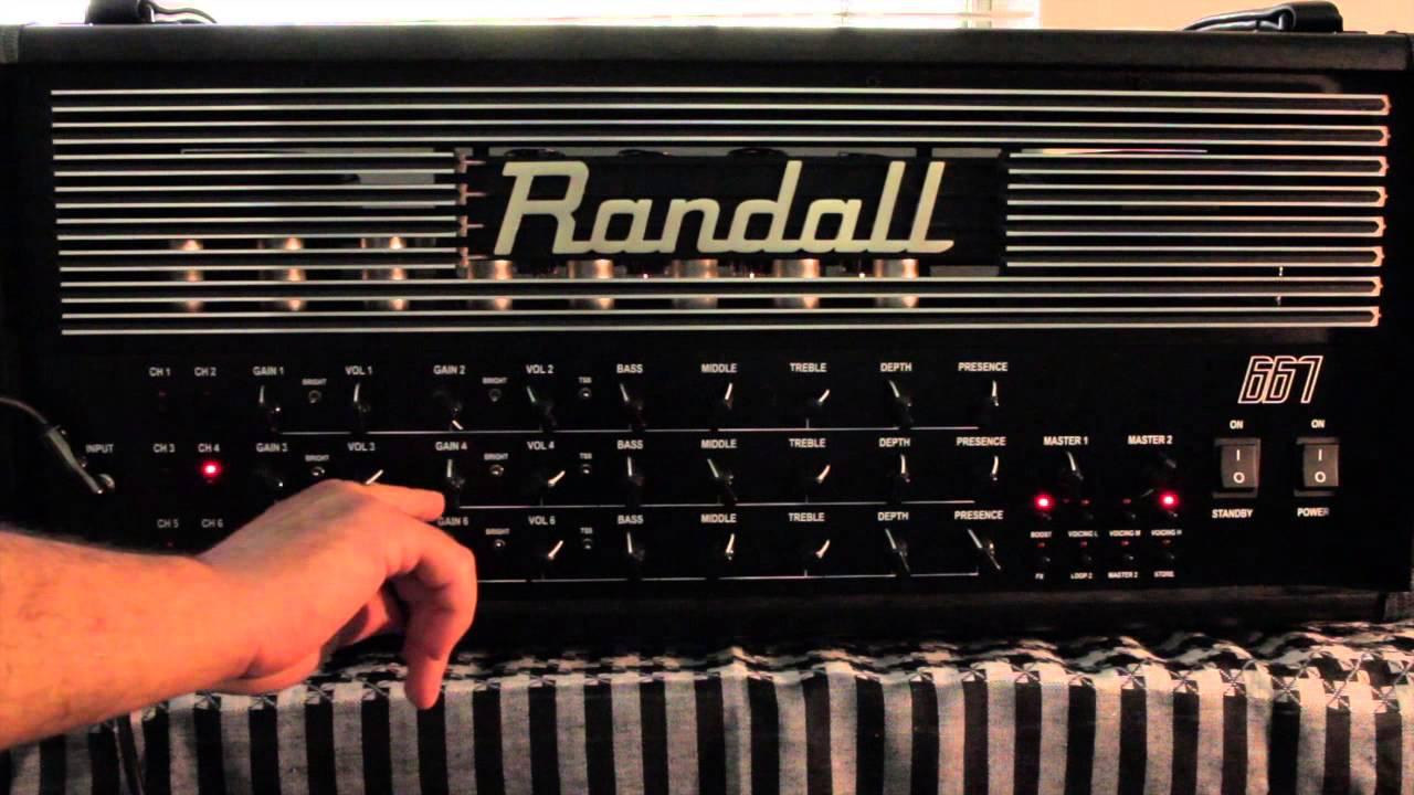 Randall 667 Demo and Play Thru