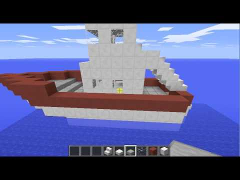 comment faire un bateau de p che minecraft youtube. Black Bedroom Furniture Sets. Home Design Ideas