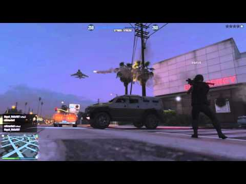 GTA 5-Crimson Pirates = Die Hard With A Vengeance