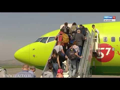 Ровно 5 лет назад аэропорт «Горно-Алтайск» принял первый рейс из Москвы
