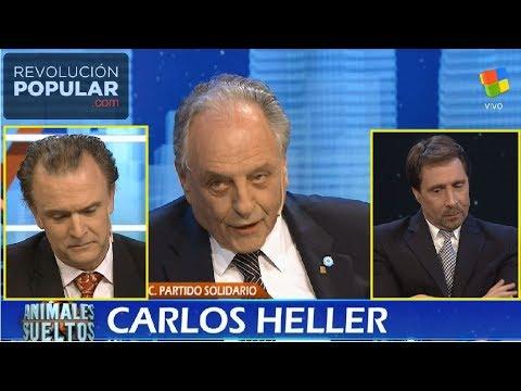 Monumental paliza mediática de Carlos Heller a los gorilas de Animales Sueltos