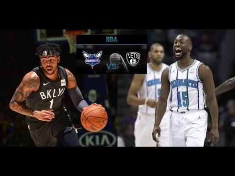 Charlotte Hornets vs Brooklyn Nets 28-12-18