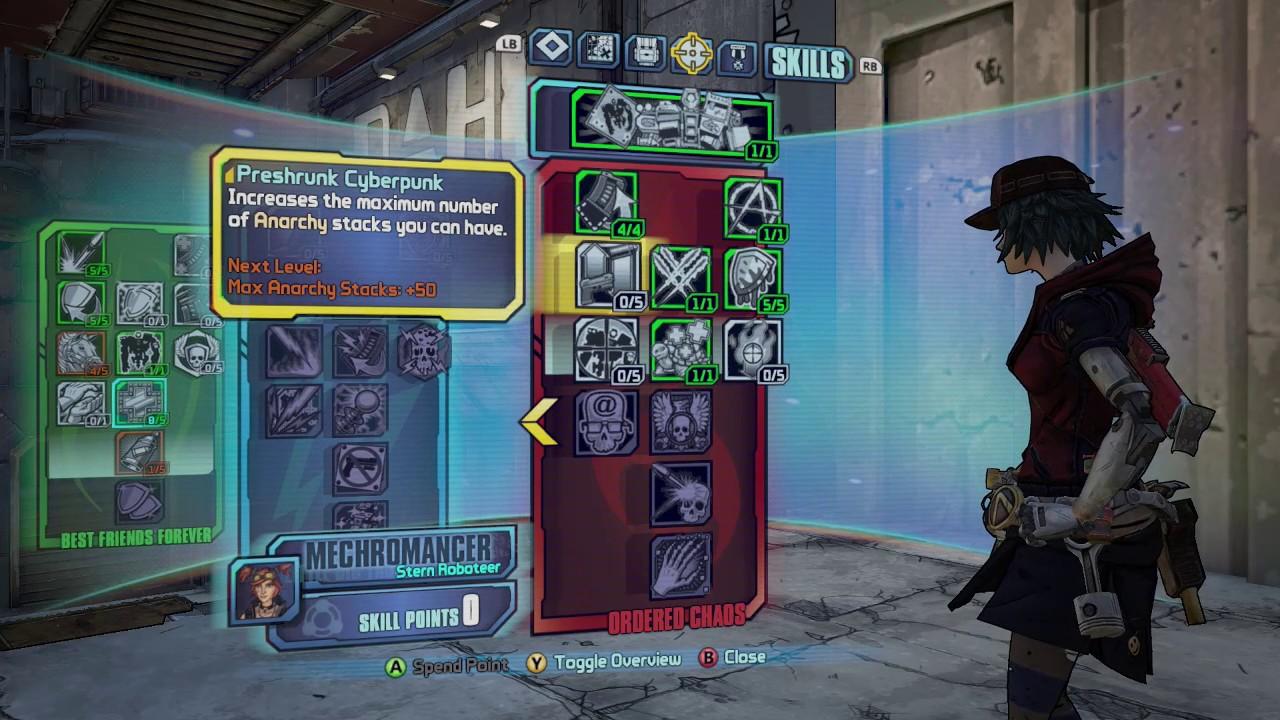 Best guns for anarchy mechromancer | best weapons for mechromancer