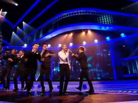 X factor final Eoghan Quigg and Boyzone