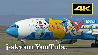 [4K] Beautiful Autumn Plane Spotting at Sapporo New Chitose Airport - runway side, fine day!