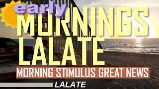 FINALLY! SECOND STIMULUS CHECK GREAT NEWS | EARLY MORNINGS LALATE Second Stimulus Package UPDATE #2