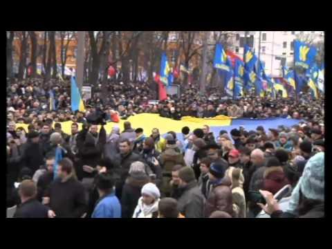 Ukraine protests continue