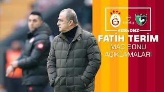 🎙 Teknik direktörümüz Fatih Terim'in maç sonu açıklamaları. #GSvDNZ