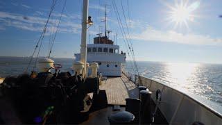 Een dag op Zeesleepboot de Holland en Terschelling
