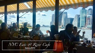 Best View to dine in New York: River Cafe vlog