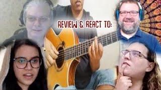 Musicians Panel Reacts to Alip_Ba_Ta Goosebumps Theme Song BOTH Arrangement & Song Reaction & Review