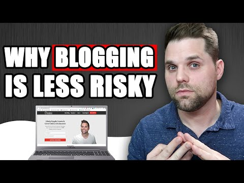 Why Blogging is Less Risky Than a Corporate Career