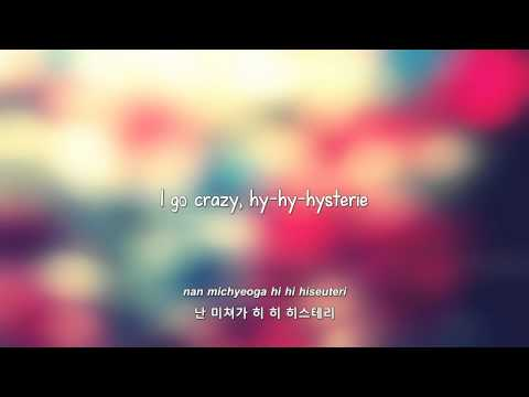 Infinite- Hysterie lyrics [Eng.   Rom.   Han.]