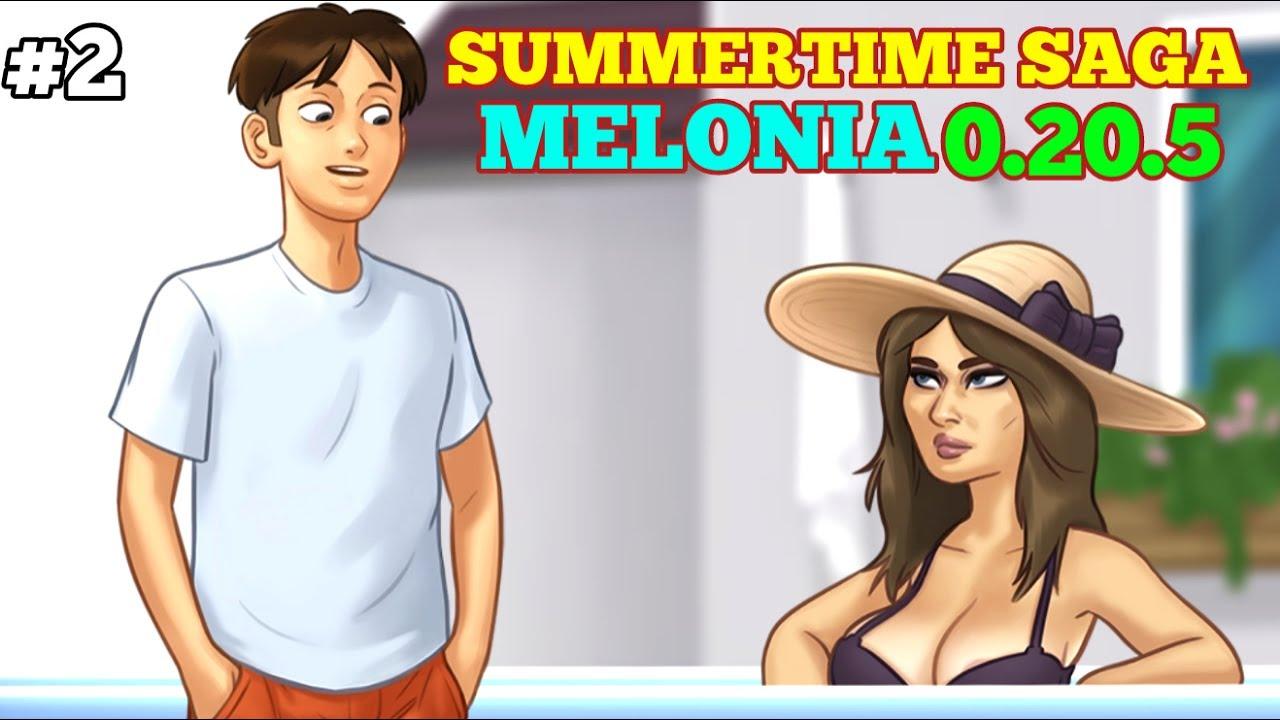 SUMMERTIME SAGA 0.20.5 NEW UPDATE | MELONIA,MAYOR RUMP,IWANKA,MAIN STORY #2 | WALKTHROUGH PART #2