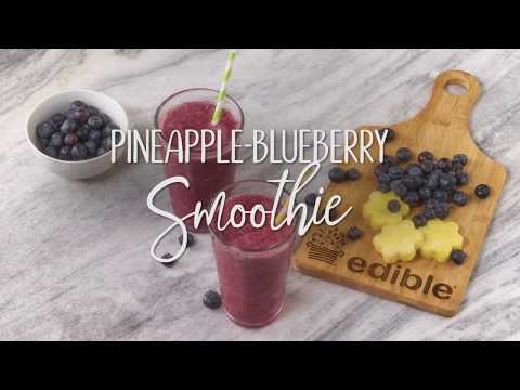Pineapple-Blueberry Smoothie Recipe