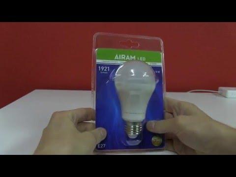 Airam LED Classic Lamp [UNBOXING] (1921 lumen 16,5 W 2700k)