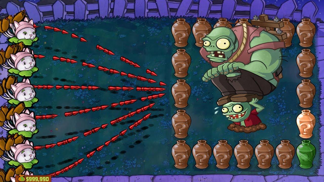 Plants vs Zombies Battle   999 Cattail vs Giga-gargantuar
