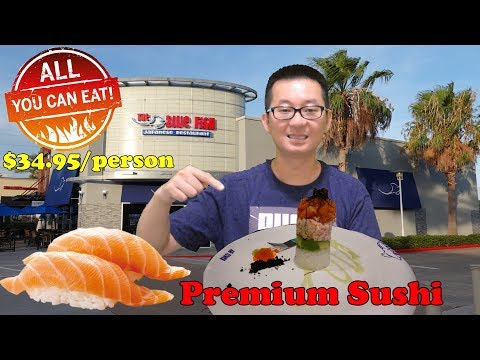 All You Can Eat Premium Sushi @ The Blue Fish | Sugar Land Location