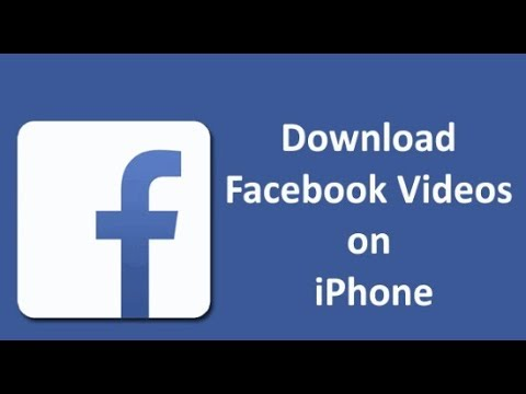 How to download video from Facebook to Photo album-IOS