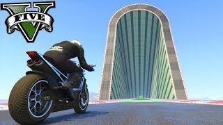 GTA V Online: A MELHOR CHALLENGE de MOTOS DO JOGO! #