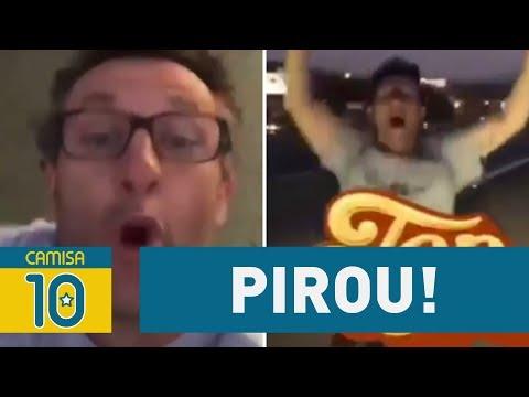 Pirou! NETO Abaixa Shorts Para Comemorar Título Do Corinthians!